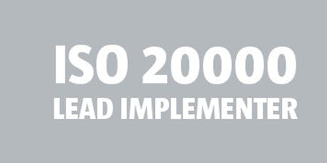 ISO 20000 Lead Implementer bilhetes