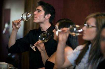 Wine tasting. Wine tasting
