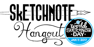 Sketchnote Hangout + #SNDay2017: Sketchnotes and Games...