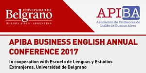 APIBA Business English Annual Conference 2017