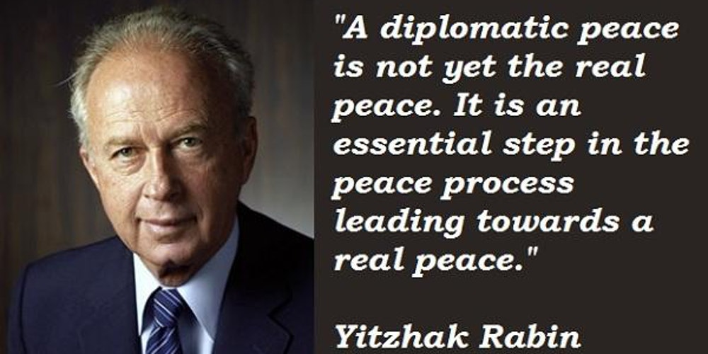 yitzhak rabin the last best hope Former israeli diplomat and tel aviv university president itamar rabinovich's new biography of yitzhak rabin begins by acknowledging what tablet magazine is a.