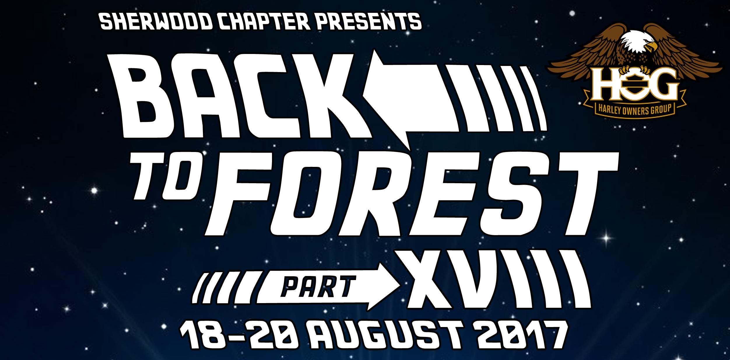 Sherwood Chapter's Back to the Forest Rally 2