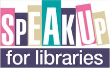 Speak Up for Libraries logo