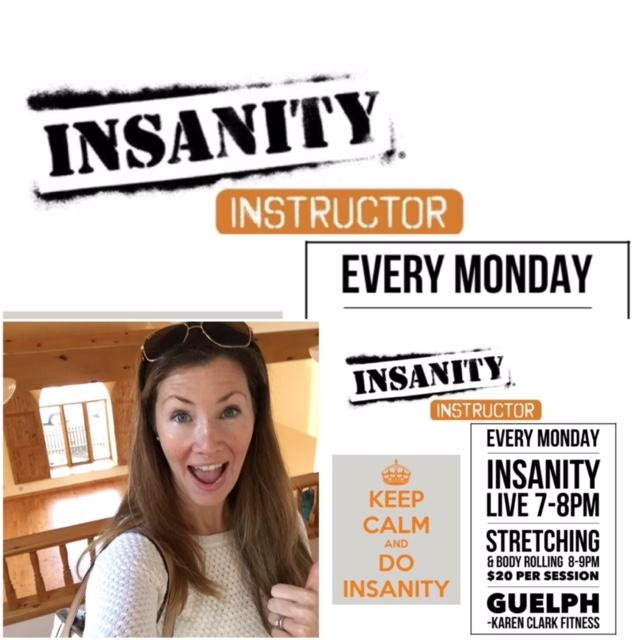 INSANITY LIVE - Mondays in Guelph