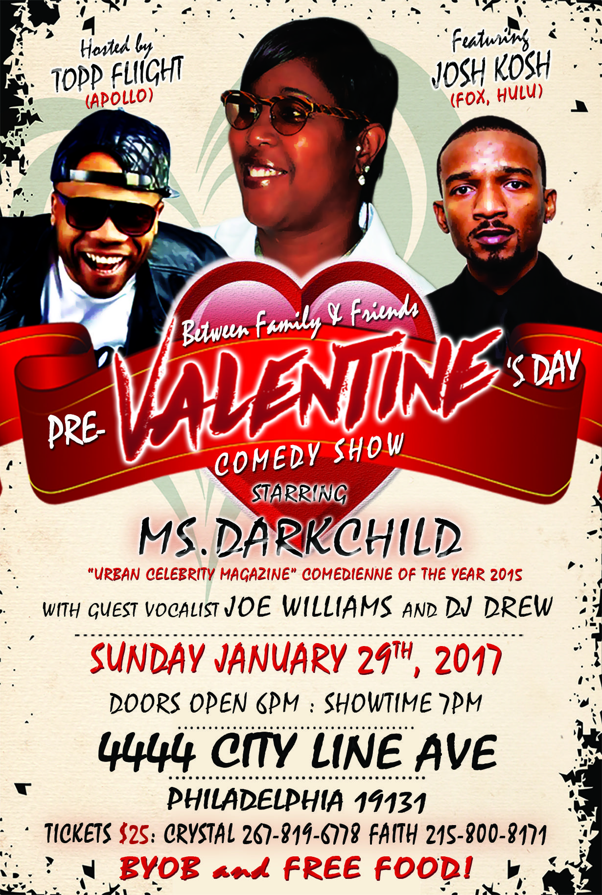 Pre-Valentines Day Comedy Show! starring Ms.D