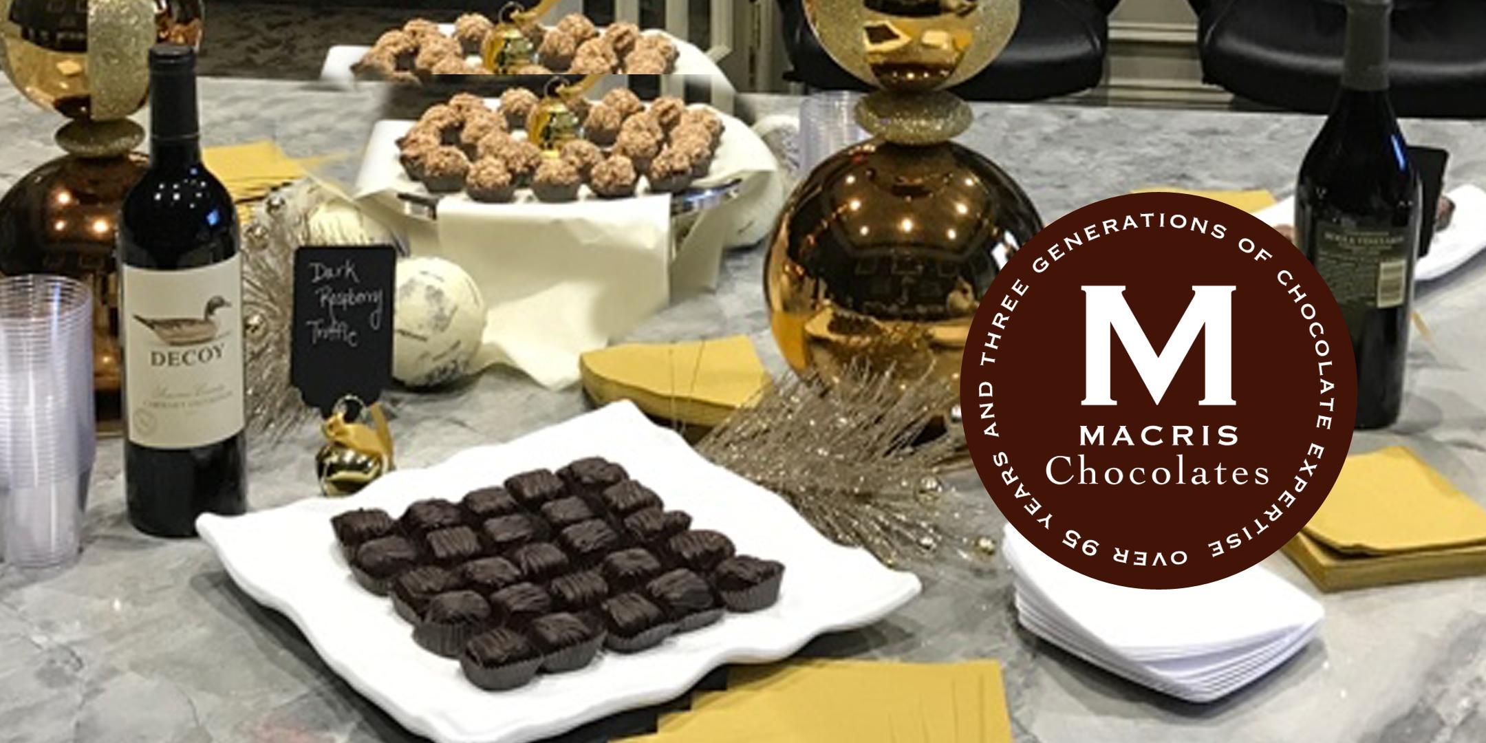 Wine & Chocolate Pairing Party at Macris Chocolates @ Lemoyne - 26 ...