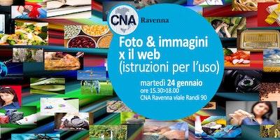 FOTO & IMMAGINI per il WEB (istruzioni per l'uso)