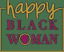 Happy Black Woman logo