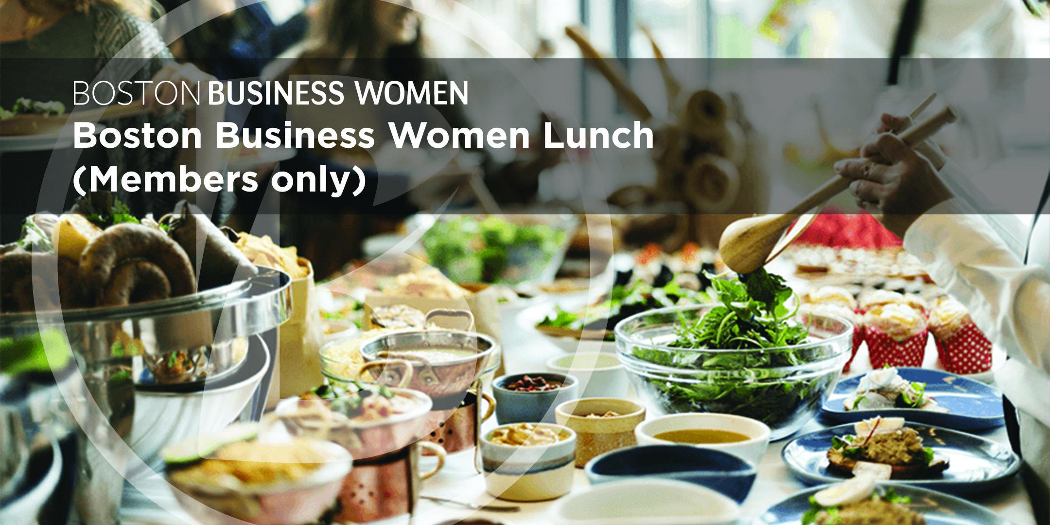 Boston Business Women Members-only Lunch