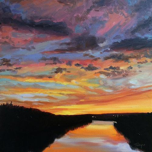 Dramatic Skies in Pastel with Takeyce Walter