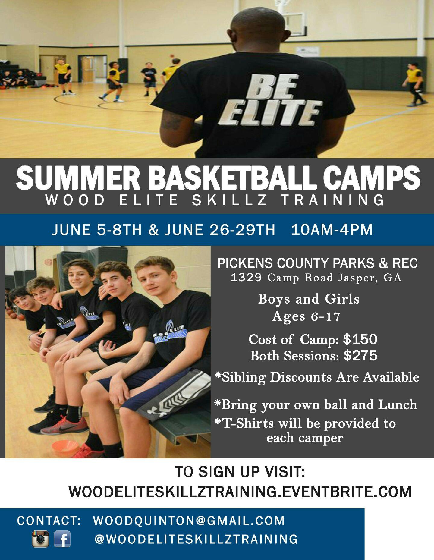 Wood Elite Skillz Summer Camp Session 2