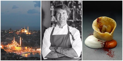 A Discussion and Tasting with Istanbul Chef Mehmet Gürs