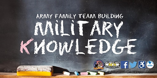 What you Know, and What you Don't Know-Army Knowledge - Army Family Team Building (AFTB) Level K.1-K.10
