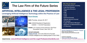 Artificial Intelligence & The Legal Profession