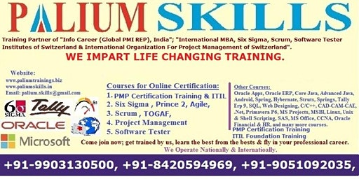 Six Sigma Classroom Training in Kolkata with Certification