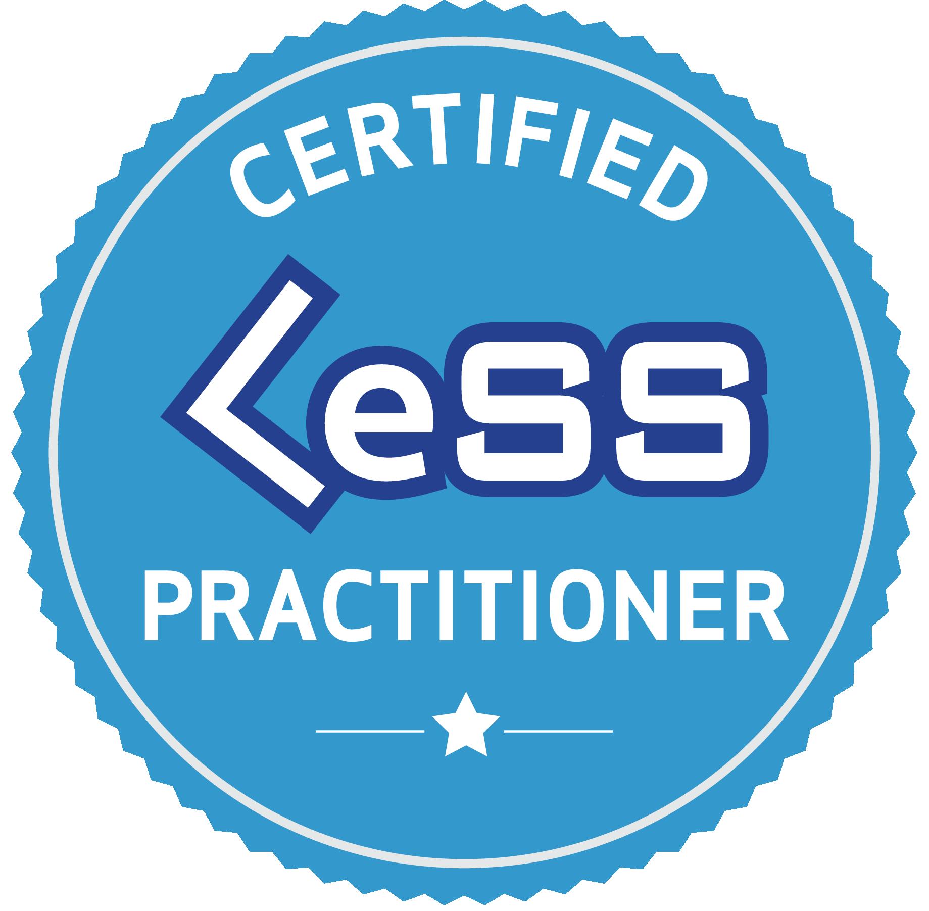 Certified LeSS Practioner - Principles to Pra
