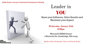 The Leader in YOU! - January 2017 PDM