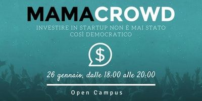 Mamacrowd: investire in startup non è mai stato così democratico