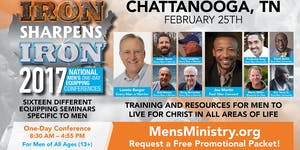IRON SHARPENS IRON 2017 Men's Conference