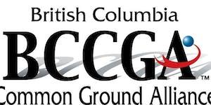 BC Common Ground Alliance 2017 Contractor Breakfast -...