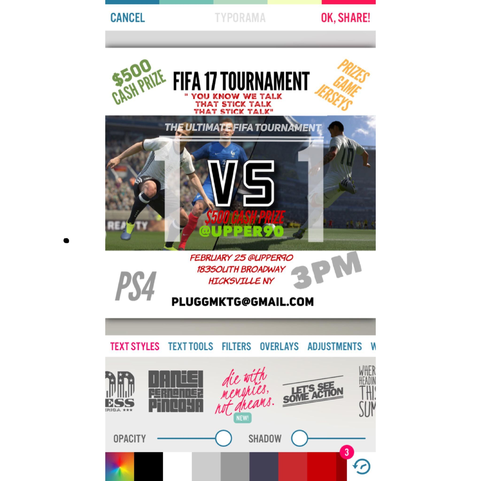 THE ULTIMATE 1V1 FIFA TOURNAMENT