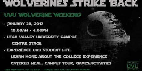 UVU Prospective Student Services Events | Eventbrite