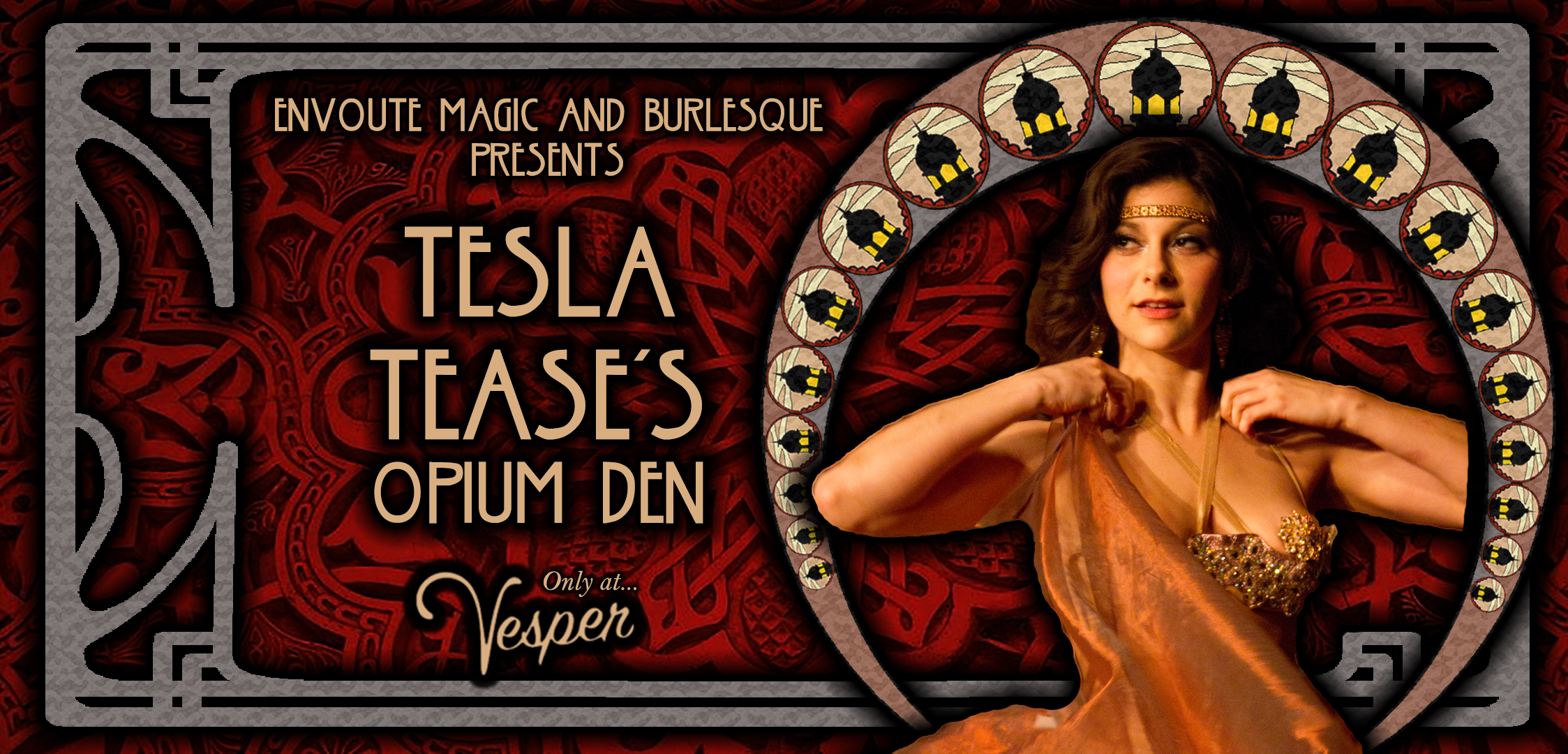 Envoute Burlesque presents Tesla Tease's Opiu