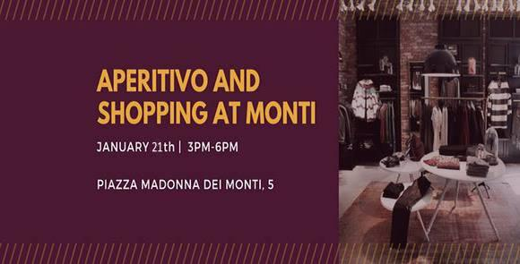 APERITIVO AND SHOPPING AT MONTI
