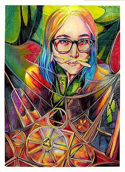 Mixed Media Drawing with Jess Hyatt