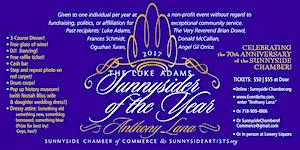ANTHONY LANA: Luke Adams Sunnysider of the Year 2017:...