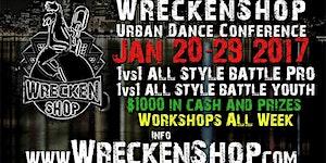WRECKENSHOP URBAN DANCE CONFERENCE 2017