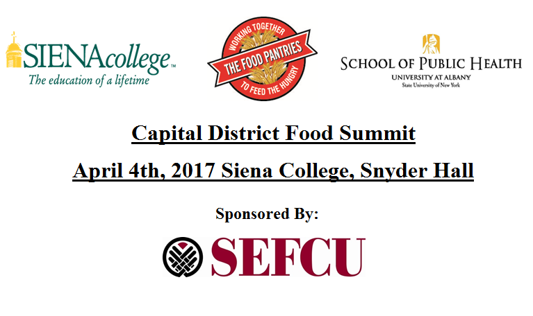 Capital District Food Summit 2017: Working To