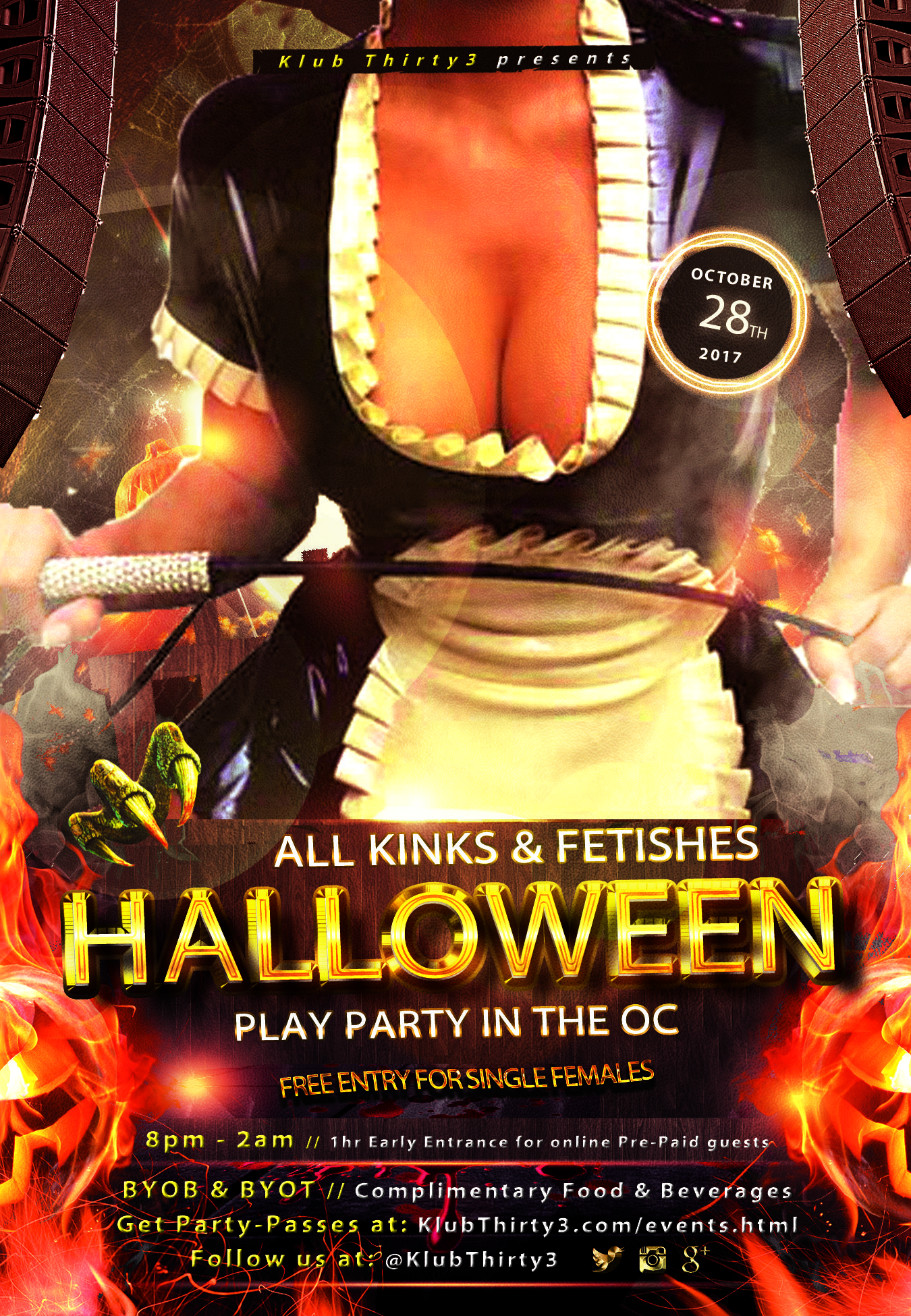 K33 | Halloween AKF Party @ Klub Thirty3 - 28 OCT 2017