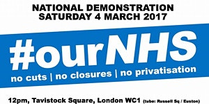 SHEFFIELD Transport to the #OurNHS demonstration -...