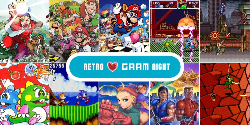 Retro Love GAAM Night