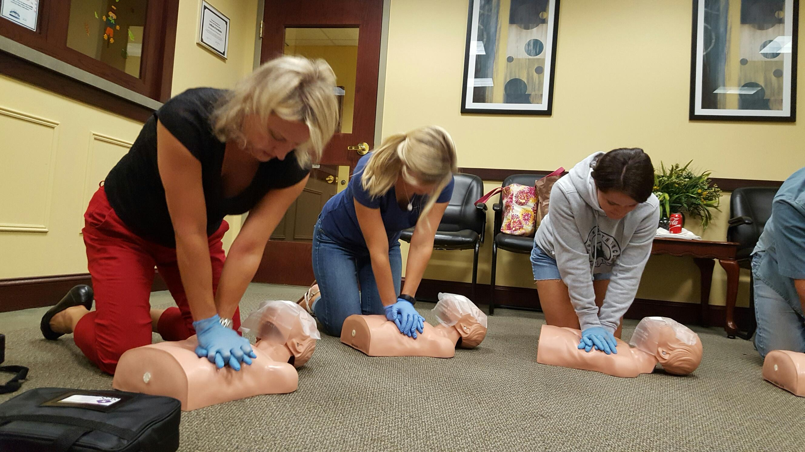 CPR/AED & Basic First Aid Course