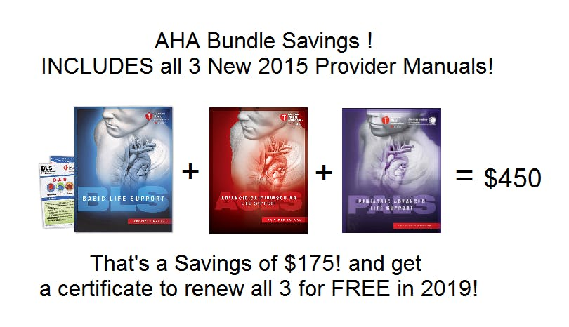 Aha Bundle Package Get Acls Bls And Pals For 450 Thats At 175