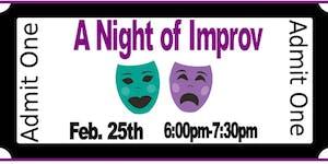 FREE YOUTH NIGHT-A Night of Improv