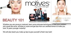 Grooming & Make Up (Beauty 101) Workshop