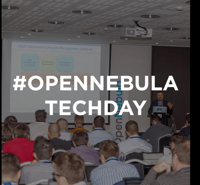 OpenNebula TechDay, Barcelona 2017
