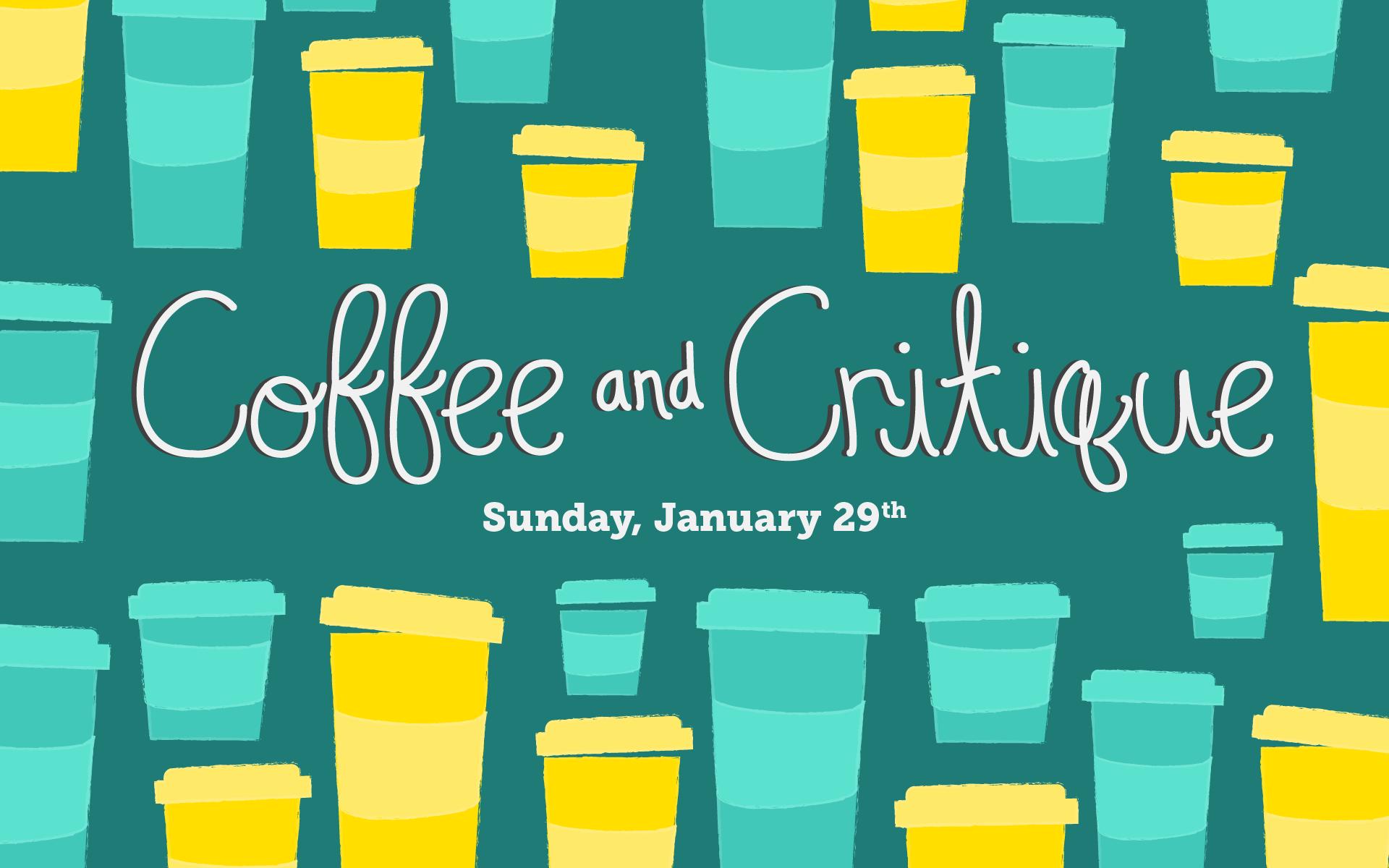 AIGA Philadelphia: Coffee and Critique