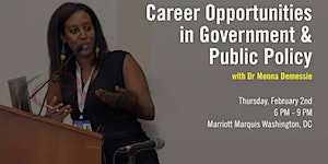 YEP Presents: Career Opportunities in Government and...