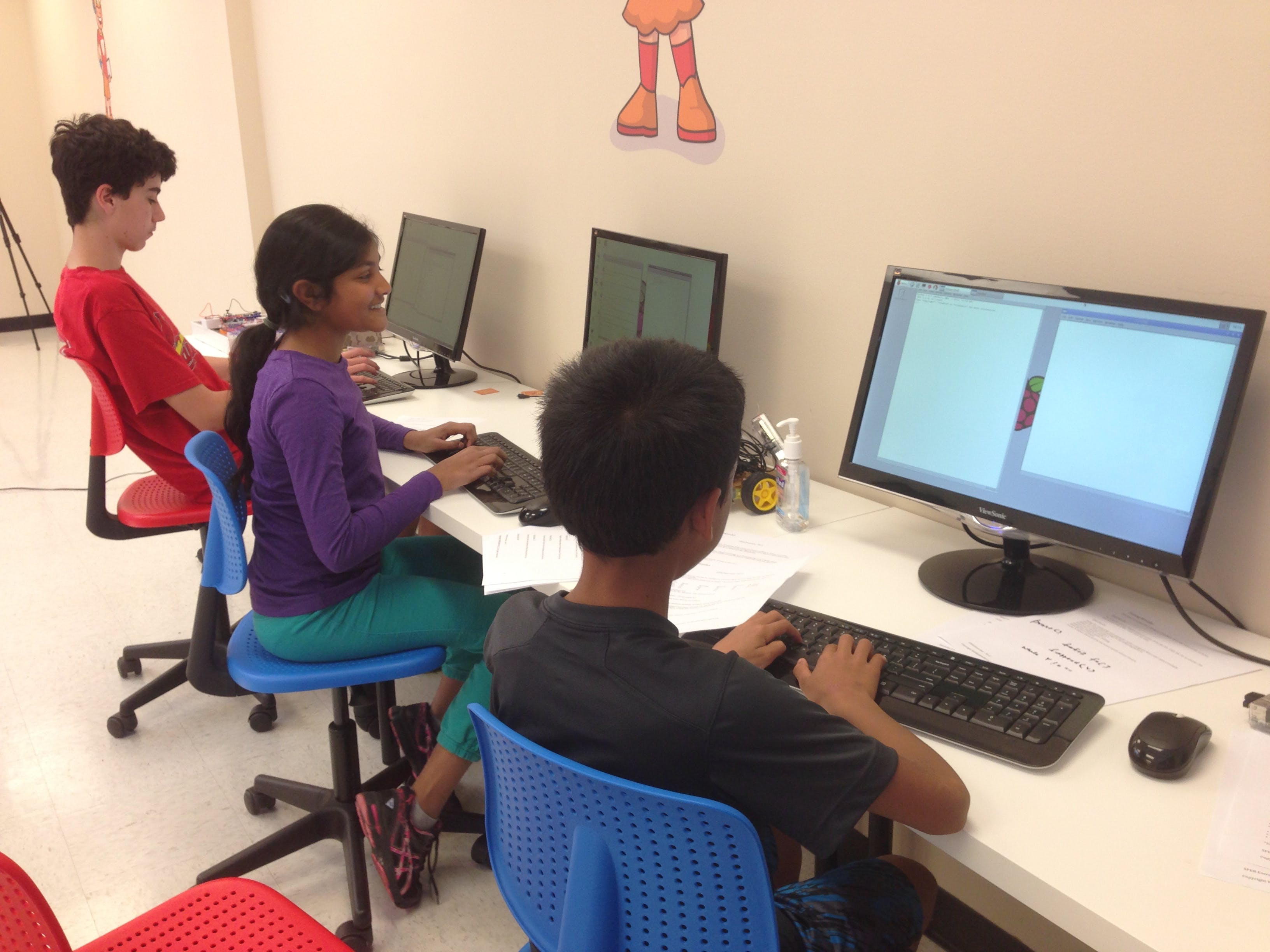 YoungWonks - Coding for Kids and Teens: Scrat