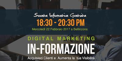 Serata Informativa (10^Edizione). Acquisire Clienti: Strategie di Web Marketing - DigitalStrategies Academy
