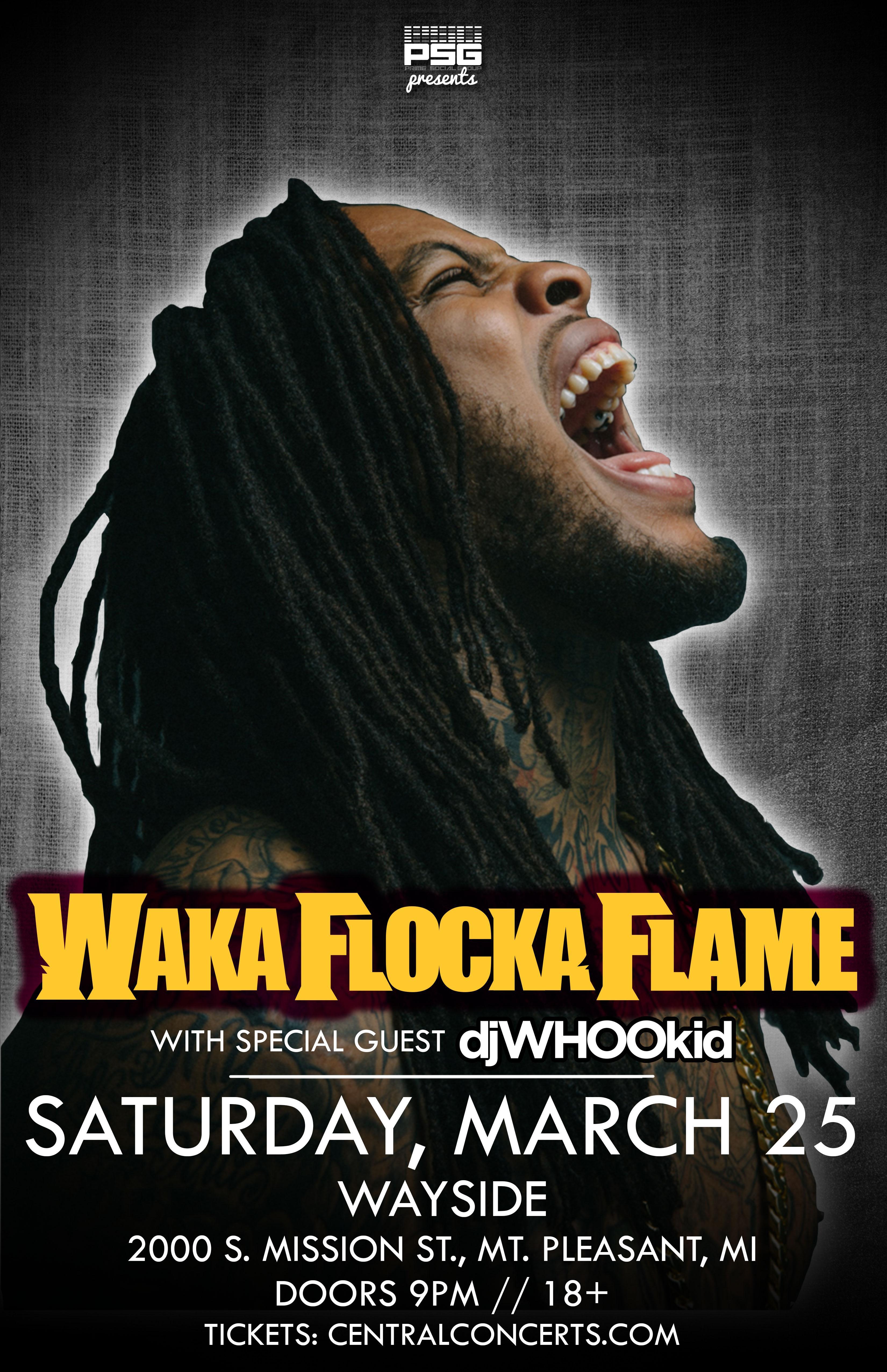 Waka Flocka Flame @ Streeters Entertainment C