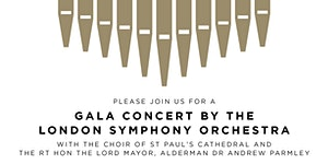 Gala Concert by the London Symphony Orchestra, in aid...