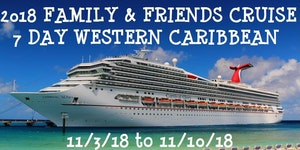 Family And Friends Western Caribbean Cruise Tickets Sat Nov - West caribbean cruise