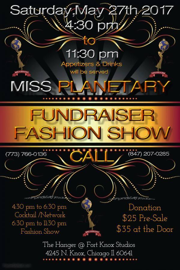 Miss Planetary Fundraising Fashion Show