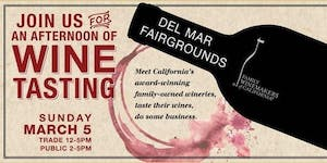Family Winemakers of California 2017 San Diego Wine...