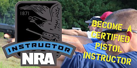 NRA Pistol Instructor Training Newport NC tickets